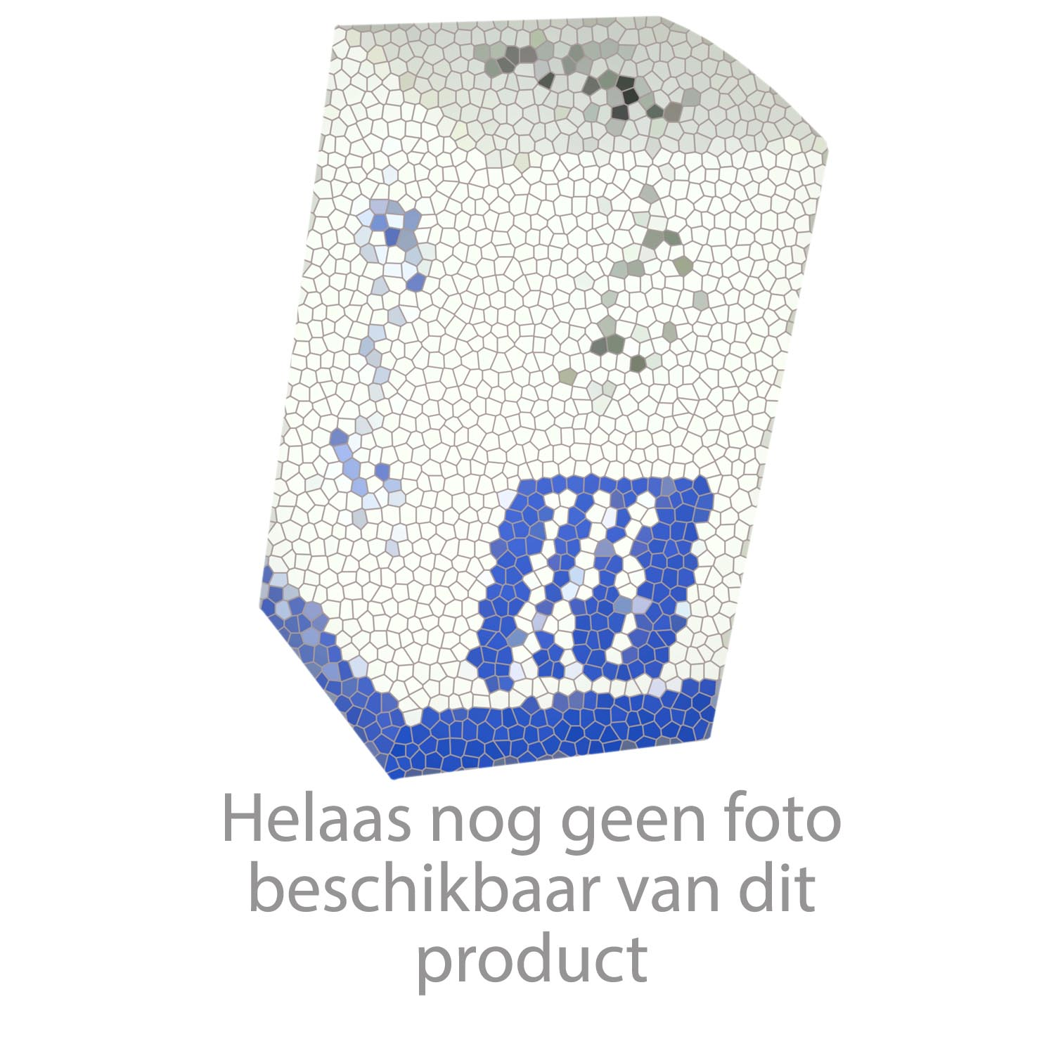 Geberit Bodemventiel met bodemventielhouder Sigma 12cm (UP100/300/320) Blauw / Wit