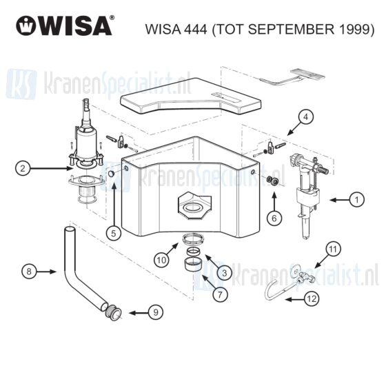 Wisa Onderdelen Wisa 444 Tot September 1999 W4400000