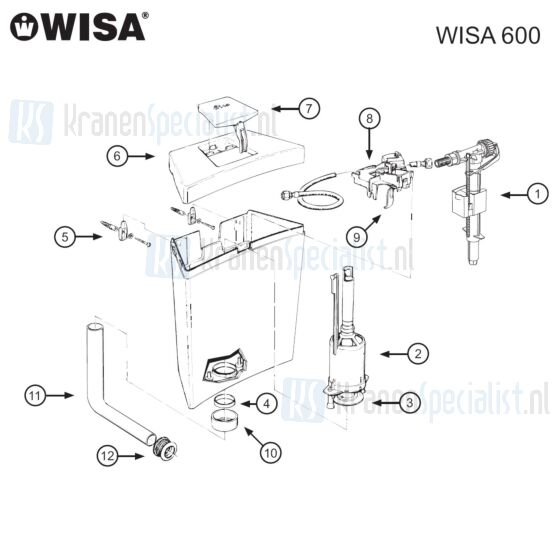 Wisa Onderdelen Wisa 600 Laatste productie 1997