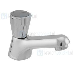 Venlo Nimbus II Messing Keramisch toiletkraan laag met perlator chroom