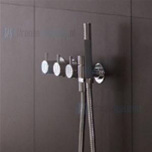 Vola 3/4 Inbouwthermostaatkraan met omstel en handdouche