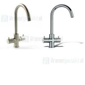 Dekorado / Lavanto�� Onderdelen Due keukenkraan met draaibare uitloop Chroom / RVS-Look 250045 / 250154