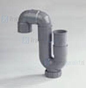 Dyka Pvc buis Sifon 40mm wit