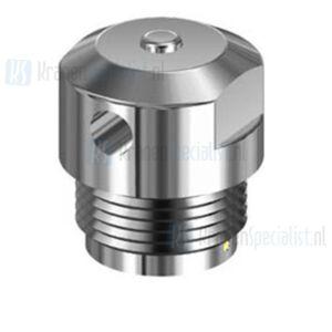 Echtermann Ont- en beluchter 1/2 verchr. D2=25/L=12/H=15mm afd. O-ring Artikel nummer 6704.20