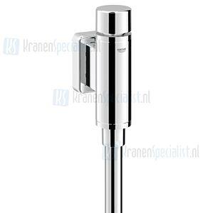 """Grohe Rondo urinoirspoeler 1/2"""" spoelpijp 200mm recht en verbinder chroom"""