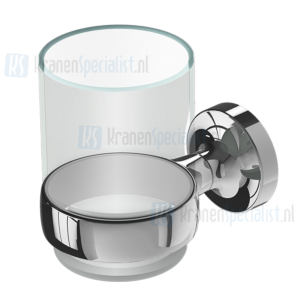 Geesa Tone Collection Glashouder Chroom Glas