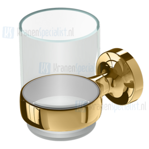 Geesa Tone Gold Collection Glashouder Goud Glas