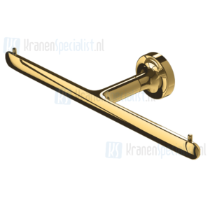 Geesa Tone Gold Collection Toiletrolhouder, Dubbel Goud