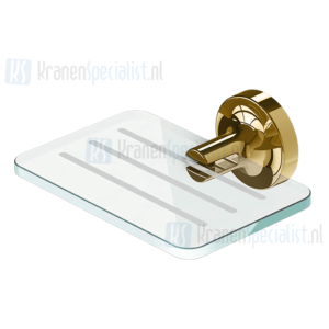 Geesa Tone Gold Collection Zeephouder Goud Glas