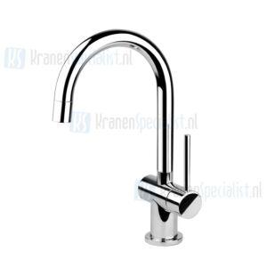 Gessi Onderdelen Oxygene toiletkraan hoge uitloop 117mm Chroom / Inox 00915.031 / 00915.142