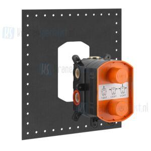 Gessi Inbouwdeel voor inbouwthermostaatkraan. Chroom Artikelnummer 09269.031