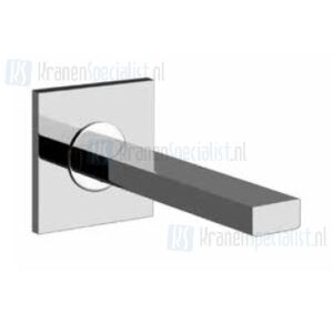 Gessi Via Manzoni Baduitloop lengte 185 mm. Chroom Artikelnummer 38725.031