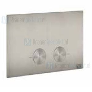 Gessi Bedieningsplaat voor geberit UP720 / UP320 Aged Bronze Artikelnummer 54611.187