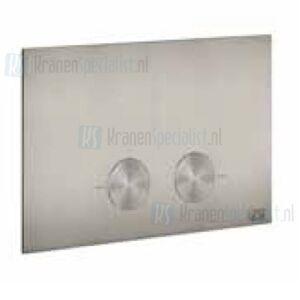 Gessi Bedieningsplaat voor geberit UP720 / UP320 Warm Steel Br. PVD Artikelnummer 54611.726