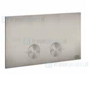 Gessi Bedieningsplaat voor Viega 1H, 2H, 2L Warm Steel Br. PVD Artikelnummer 54613.726