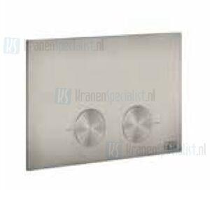 Gessi Bedieningsplaat voor geberit Omega 12 Warm Steel Br. PVD Artikelnummer 54615.726