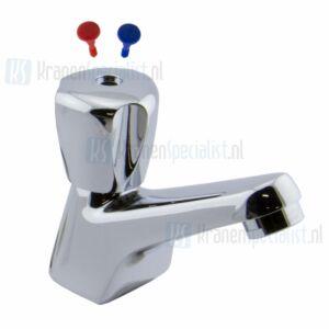 Kludi Standaard Terralux toiletkraan 1/2 met straalregelaar chroom
