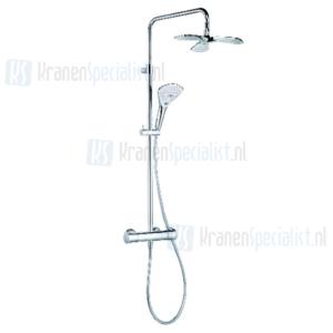 Kludi Fizz Thermostat Dual Shower-System