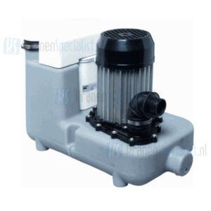 Sanibroyeur Sanicom vuilwaterpomp voor intensief huishoudelijkgebruik, horeca gelegenheden en kantine opvoerhoogte 9m of horizontaal 90m wit