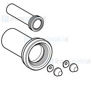 Geberit Duofix aansluitgarnituur wandcloset 110mm