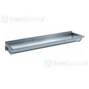 Franke RVS wasgoot afvoer links m. console m. plug 180x40x17