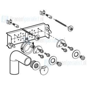 Geberit Gis montage-element voor wastafel