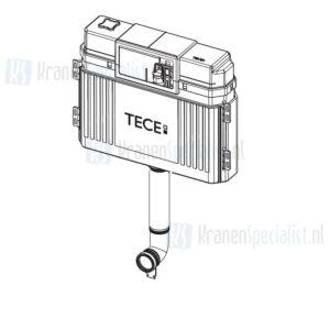 TECE onderdelen TECE Los Reservoir gedeelte tbv 1120 mm, frontbediening compleet