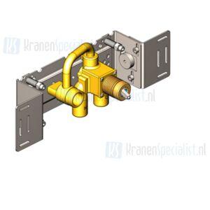 Vola Onderdelen Inbouwdeel Type 100X Inbouwdeel monoknop (uitloop links)