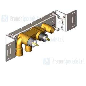 Vola Onderdelen Badthermostaat Type 5100 Inbouwthermostaat met vast aansluithuis. 3/4 aansluiting