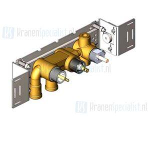 Vola Onderdelen Badthermostaat Type 5400V Inbouwthermostaat met 3/4 aansluiting met omstel