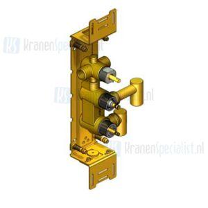 Vola Onderdelen Badthermostaat Type 5600V Inbouwthermostaat met 3/4 aansluiting met omstel Verticaal