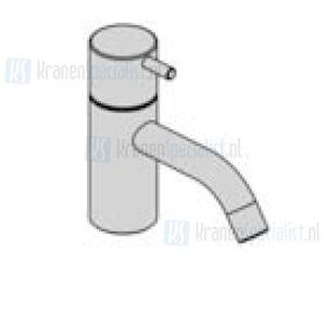Vola Monoknop fonteinkraan met keramisch binnenwerk (Alleen koud water) Geborsteld Chroom Artikelnummer RB1+20