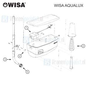 Wisa Onderdelen Wisa Aqualux (gemaakt tot 1996) Aql000001