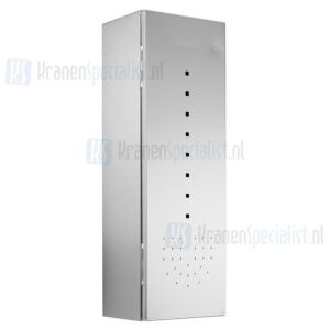 Wagner Ewar A-Line Closetborstel WP 162 Closetborsel uitneembaar 148x448x120mm Polished RVS
