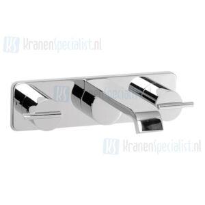 Jado onderdelen Glance 2-greeps 3-gats wastafelkraan Wand inbouw (> 02/2004) H2109AA