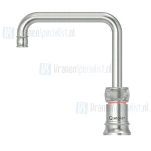 Quooker losse Nordic Classic Square Single Tap kraan RVS