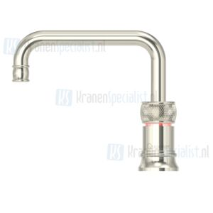 Quooker losse Nordic Classic Square Single Tap kraan Zilver Nikkel