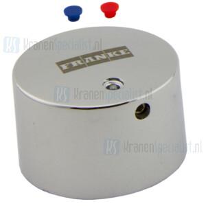 Franke Aqua knop met blauwe / rode markering Artikelnummer 82-500-01.056 / 2000105625