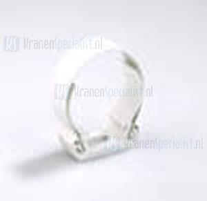 Dyka Zadel 50mm (klik) wit