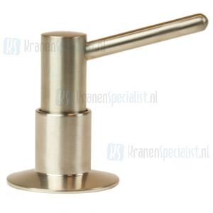 Doeco Jolly Bladzeeppomp met 60 mm uitloop, inhoud: 500 ml. Montagegat:  26 mm. Maximale bladdikte: 50 mm Inox-look