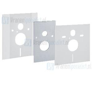 Geberit Onderdelen Duofix Afdekplaat met geluidsisolatieset in hoogte verstelbaar Bouwjaar 2005