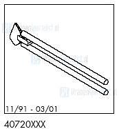 HansGrohe Onderdelen Axor 1901 40720 (11/91 - 03/01)