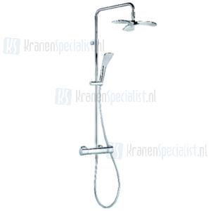 Kludi Fizz Dual Shower System Therm