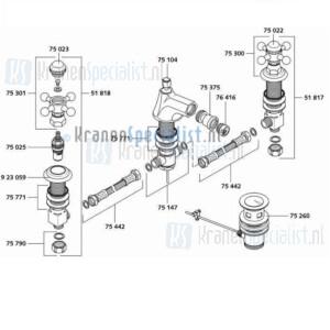 Kludi Onderdelen Adlon Artikelnummer 51218
