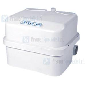 Sanibroyeur Sanicubic Pro multifunctionele tweepomps afvalwater opvoerinstallatie opvoerhoogte 11m of horizontaal 100m