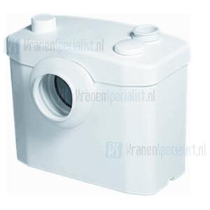 Sanibroyeur Sanitop faecalinvermaler voor WC en fontein opvoerhoogte 5m of horizontaal 100m wit