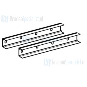Geberit Duofix systeemrail 30cm