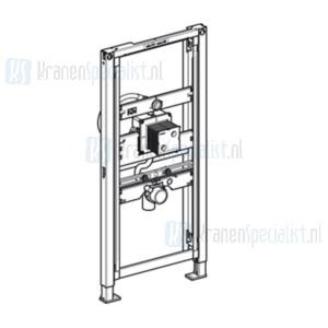 Geberit Duofix urinoir element bediening niet zichtbaar hoog 112-130cm