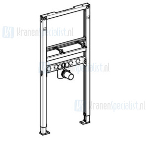 Geberit Duofix wastafel-element H112 voor opbouw wastafelkraan