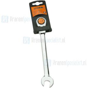 NEO ring-steek sleutel met ratel 13mm (tbv aandraaien kraan moer) 09-055